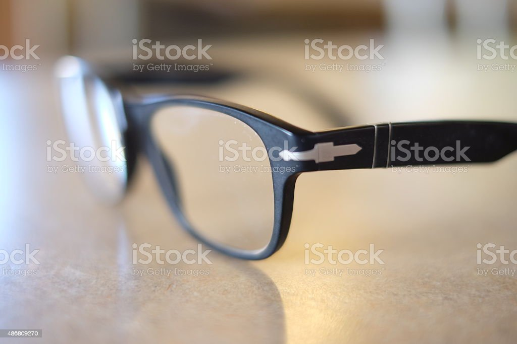 Detail of Glasses stock photo