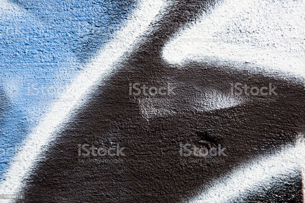 Detail of graffiti. Art or vandalism. royalty-free stock photo