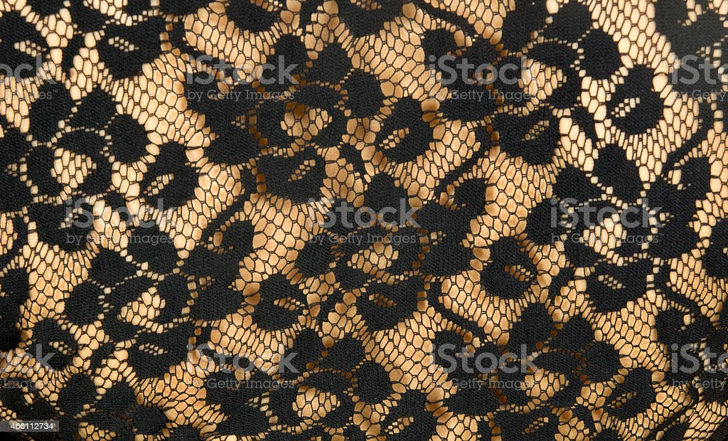 detail of lace top stock photo