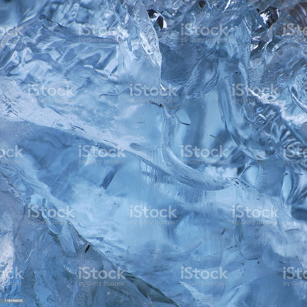 detail of melting iceberg stock photo