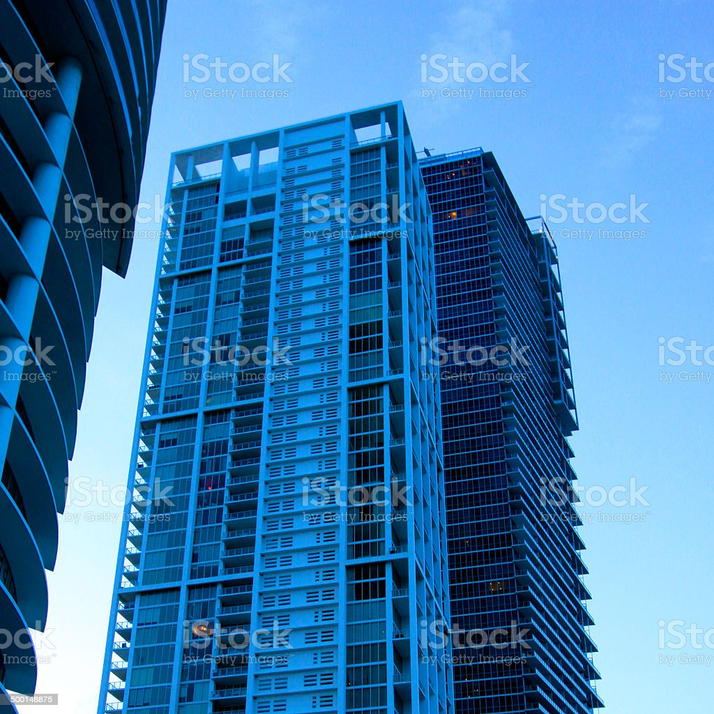 Architektur Detail von Miami Lizenzfreies stock-foto
