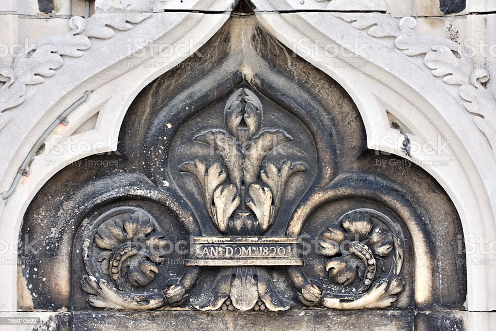 "Detail of Milan Cathedral (""Duomo di Milano""). Italy. stock photo"