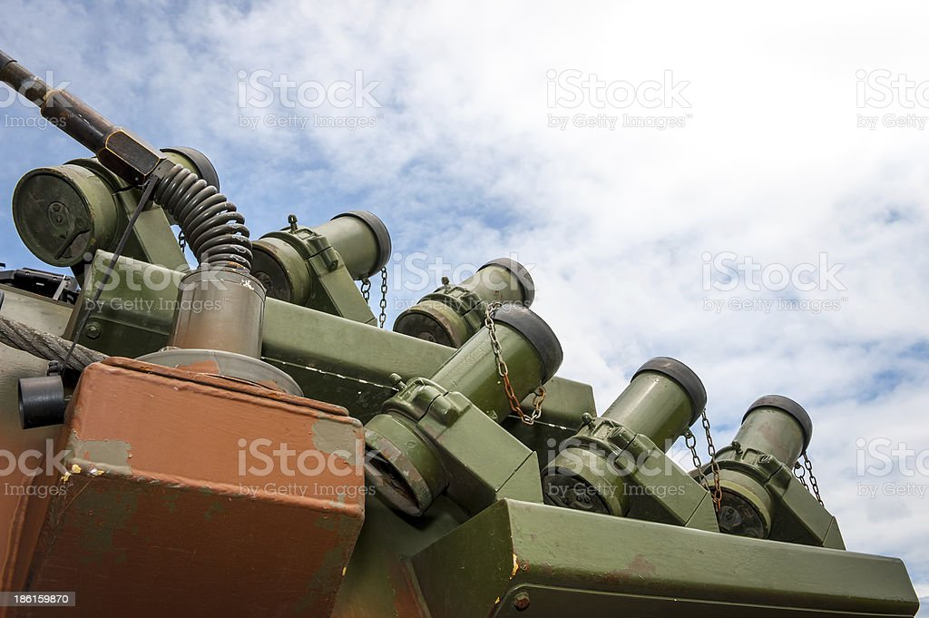 Detail of military vehicle royalty-free stock photo