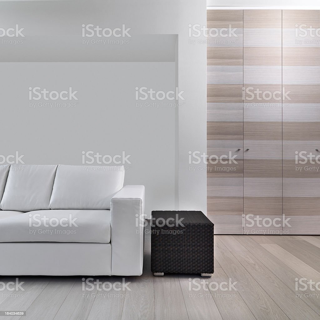 detail of modern living room royalty-free stock photo