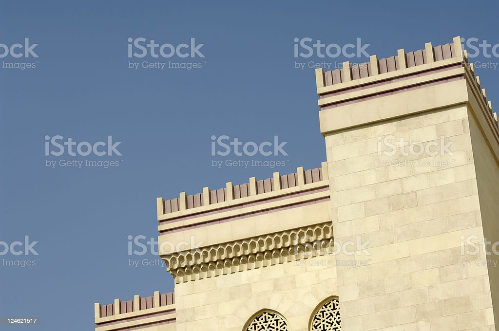 detail of mosque stock photo