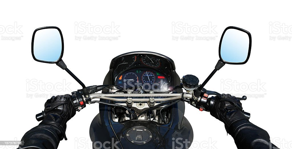Detail Of Motorbike stock photo
