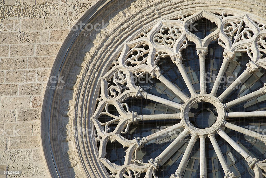 Detail of Otranto Cathedral stock photo