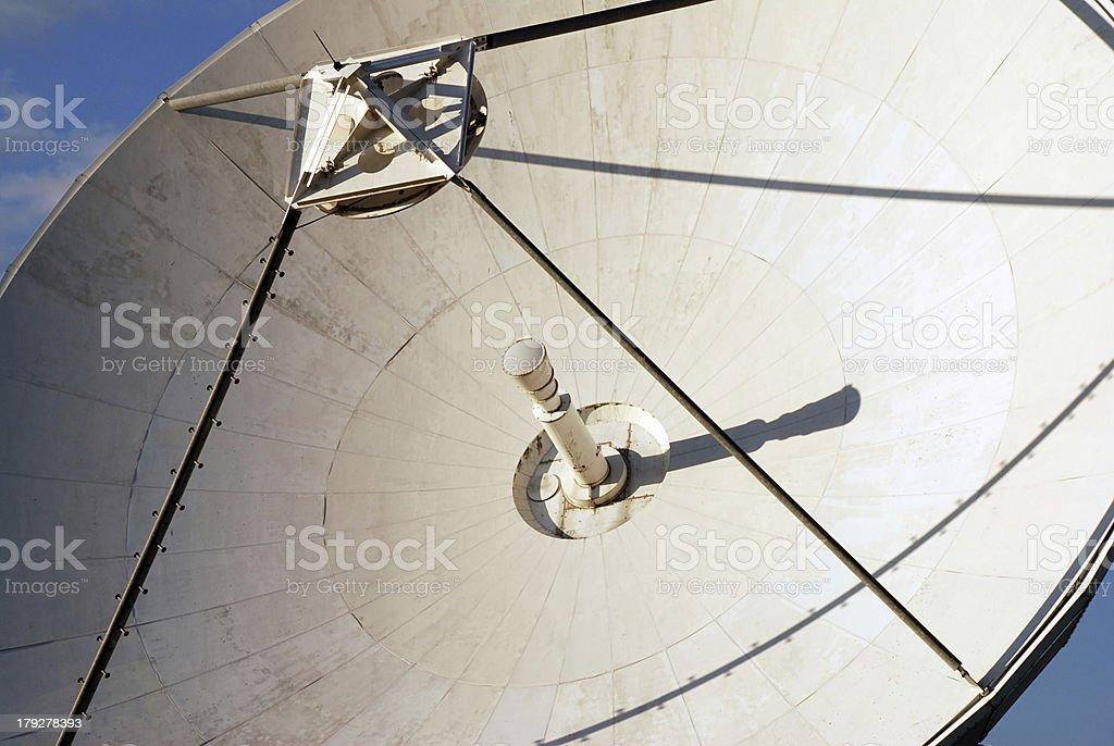 Detail of parabola royalty-free stock photo
