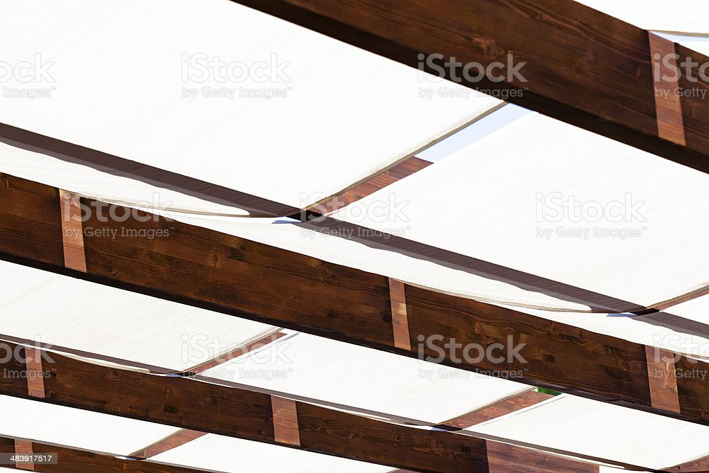 Detail of Roof stock photo