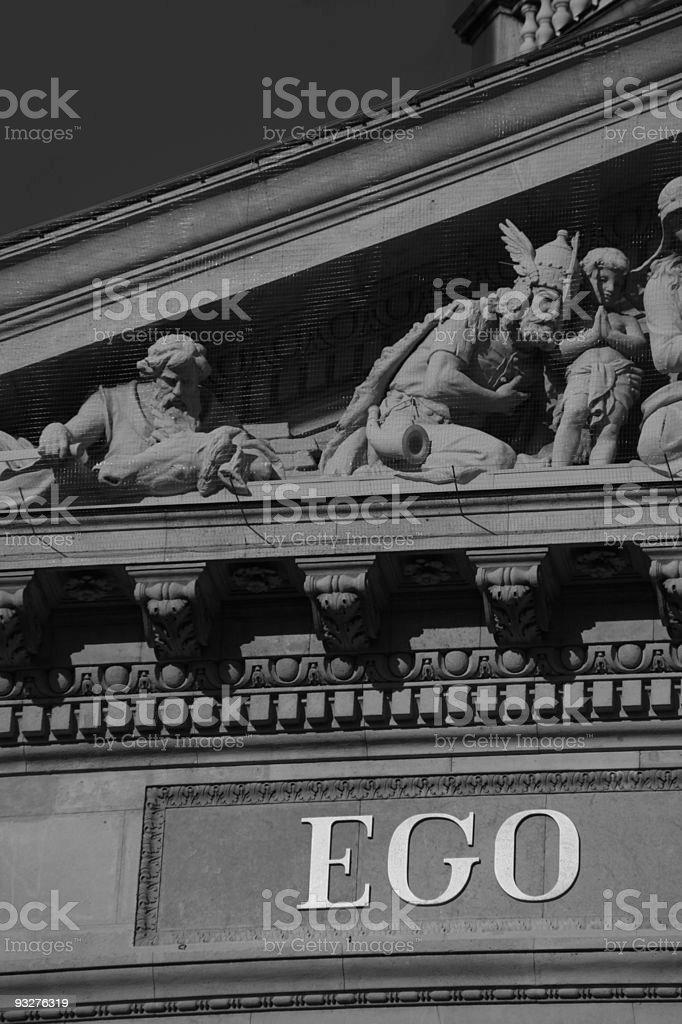 Detail of St. Stephen Basilica, Budapest, Hungary royalty-free stock photo