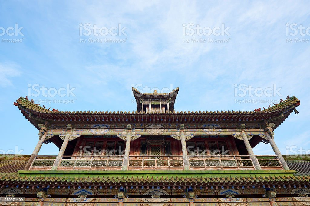 Detail of Temple at Winter Palace stock photo