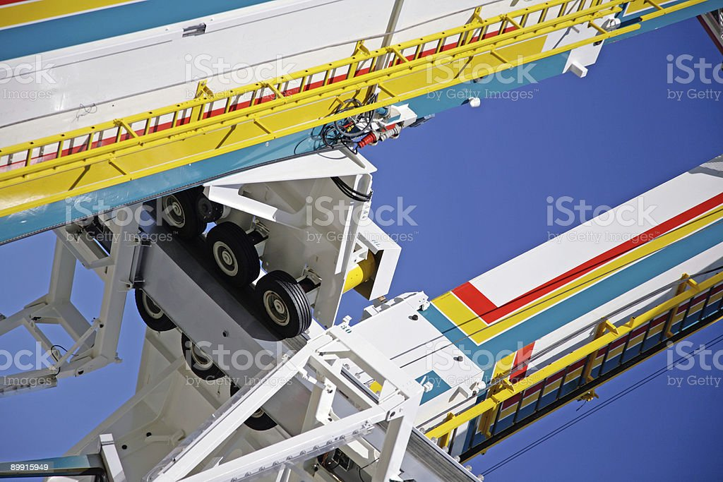 Detail of the ferris wheel. royalty-free stock photo