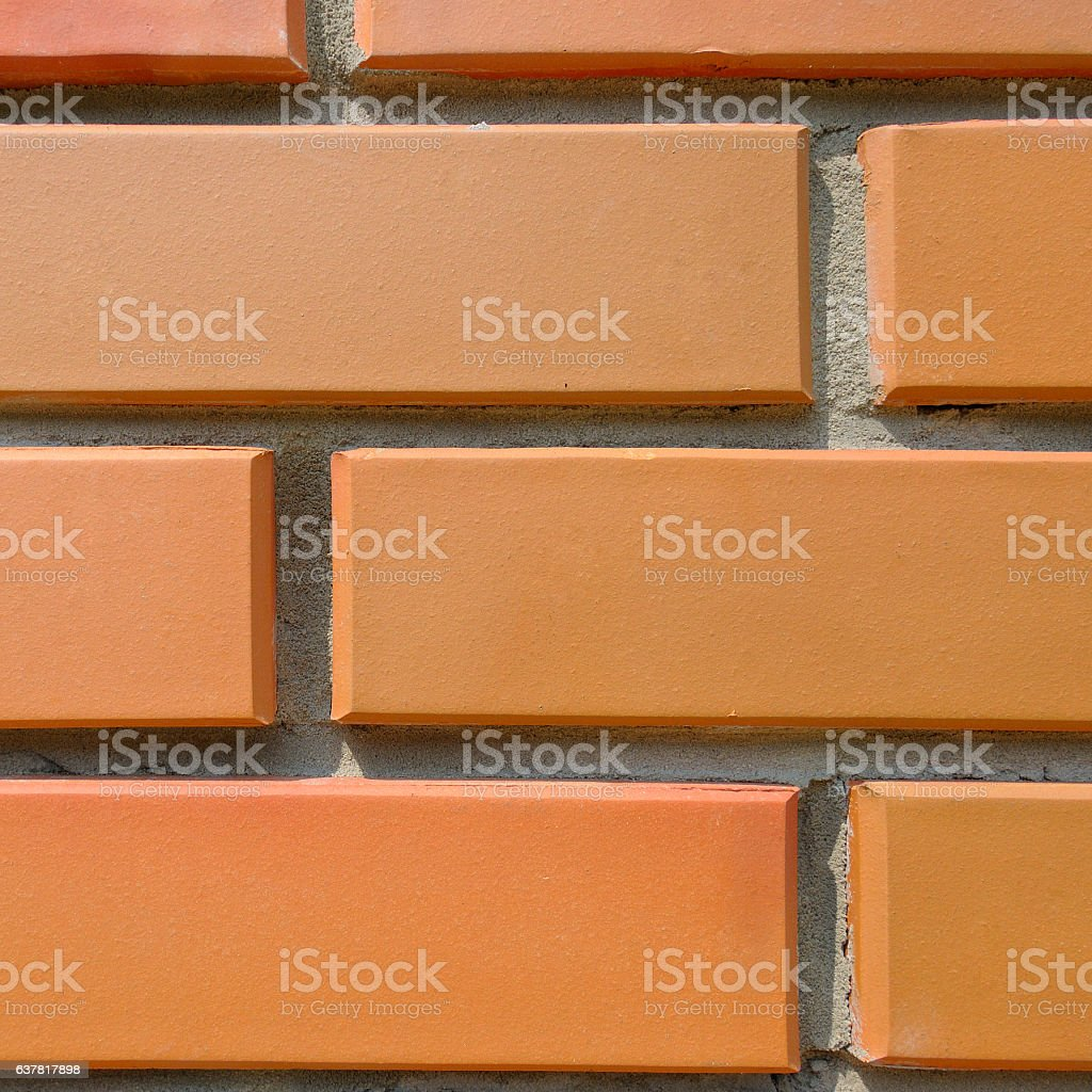 Detail of the house wall. stock photo