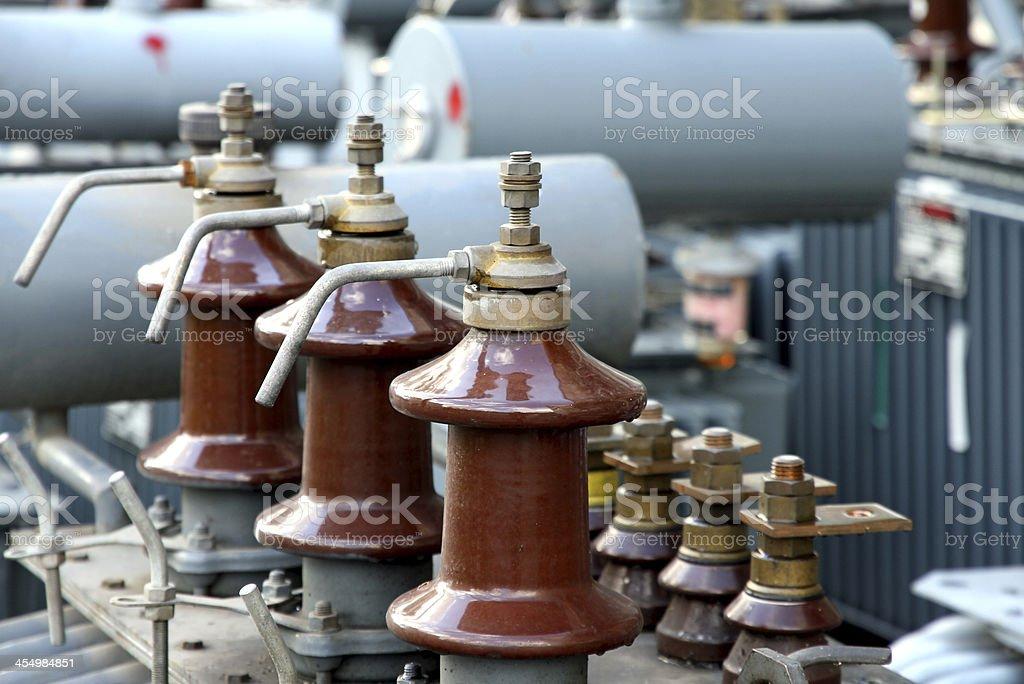 detail of the isolators stock photo