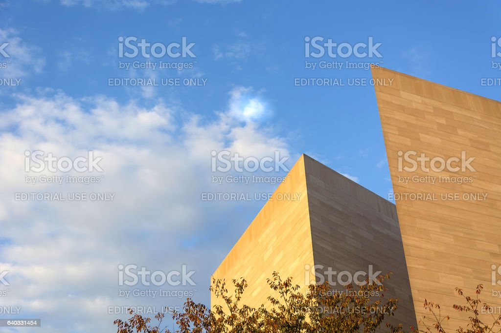 Detail of the National Gallery  Art stock photo