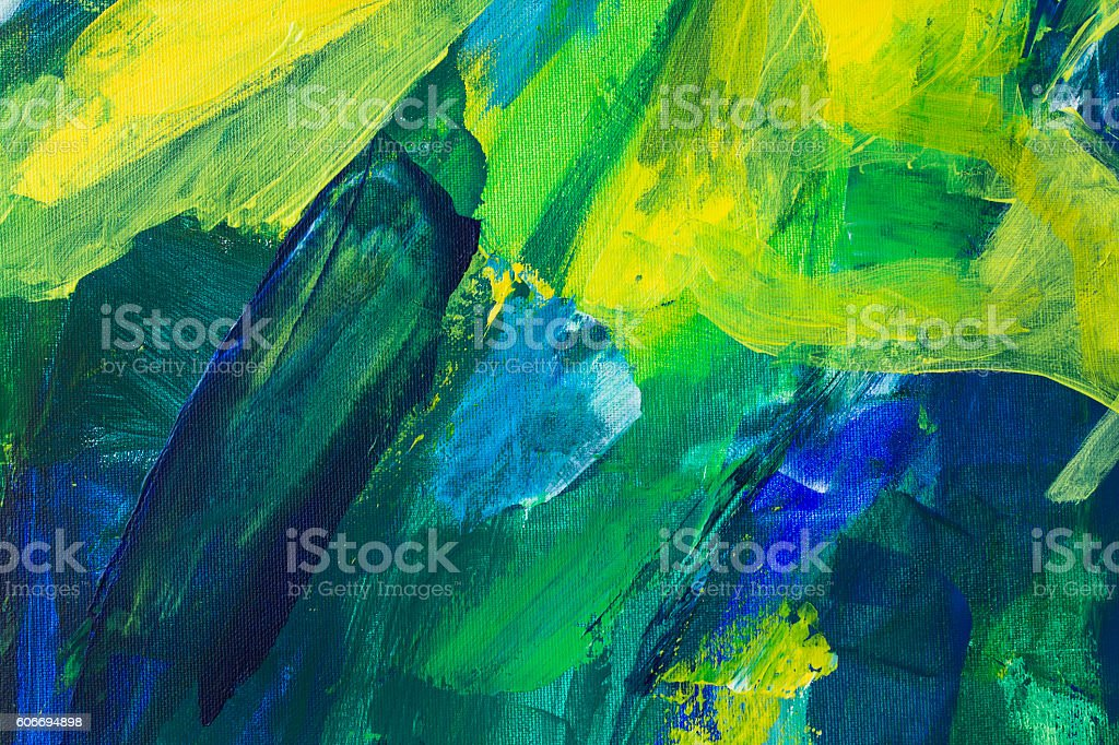 Detail of the Painting as a Background stock photo