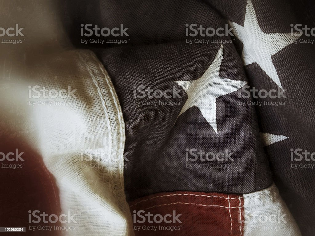 detail of USA flag royalty-free stock photo