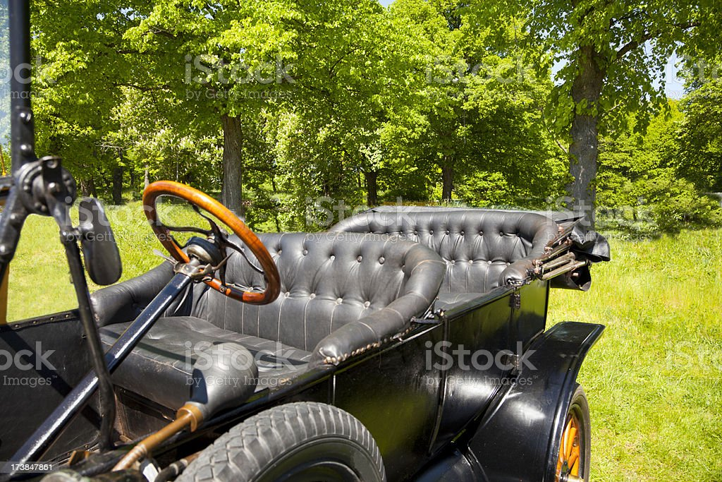 Detail of vintage car royalty-free stock photo