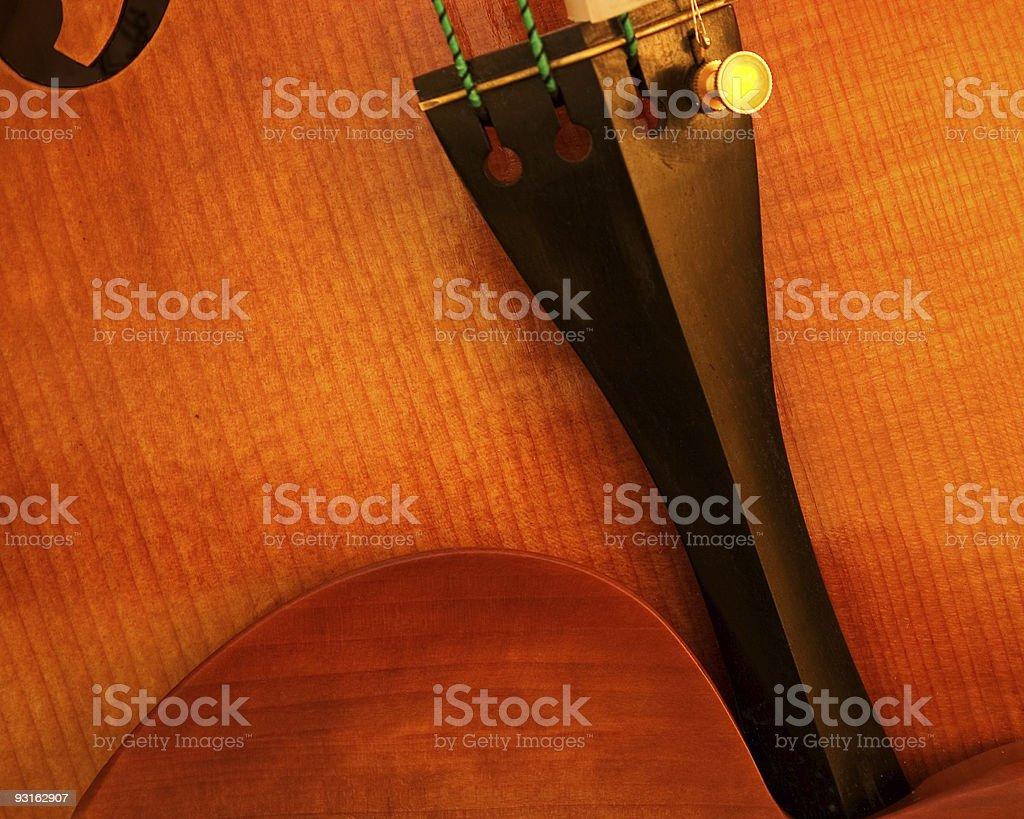 Dettaglio di viola/violino foto stock royalty-free