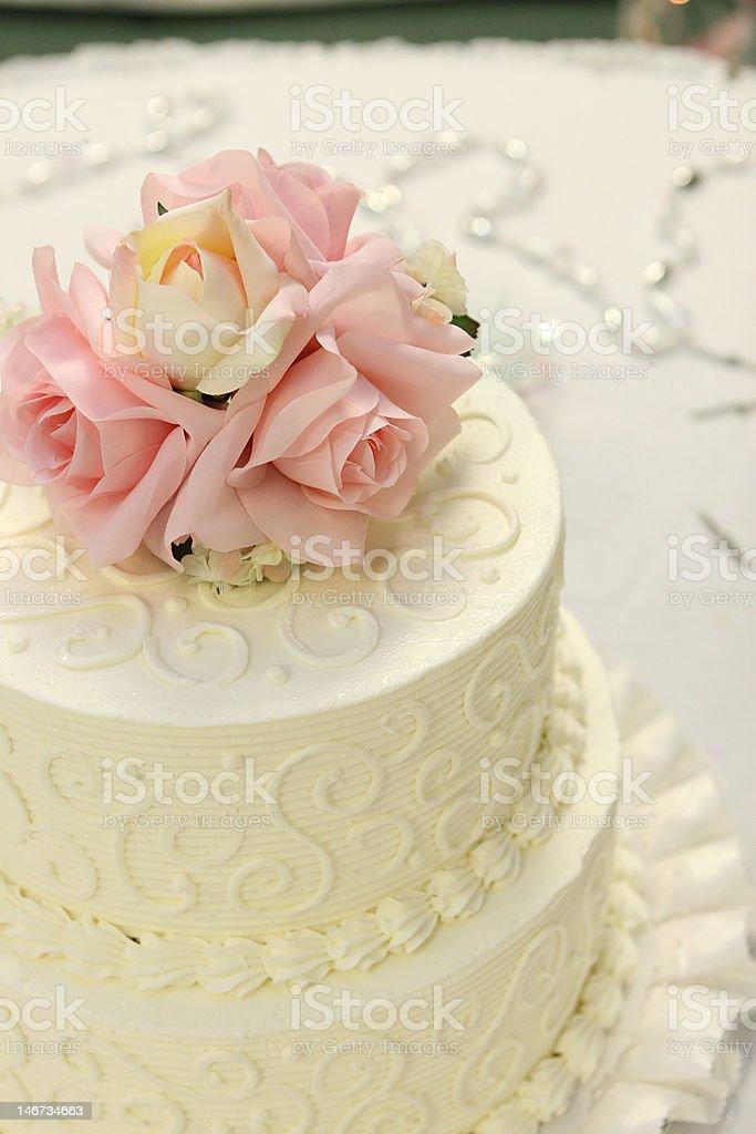 detail of wedding cake royalty-free stock photo