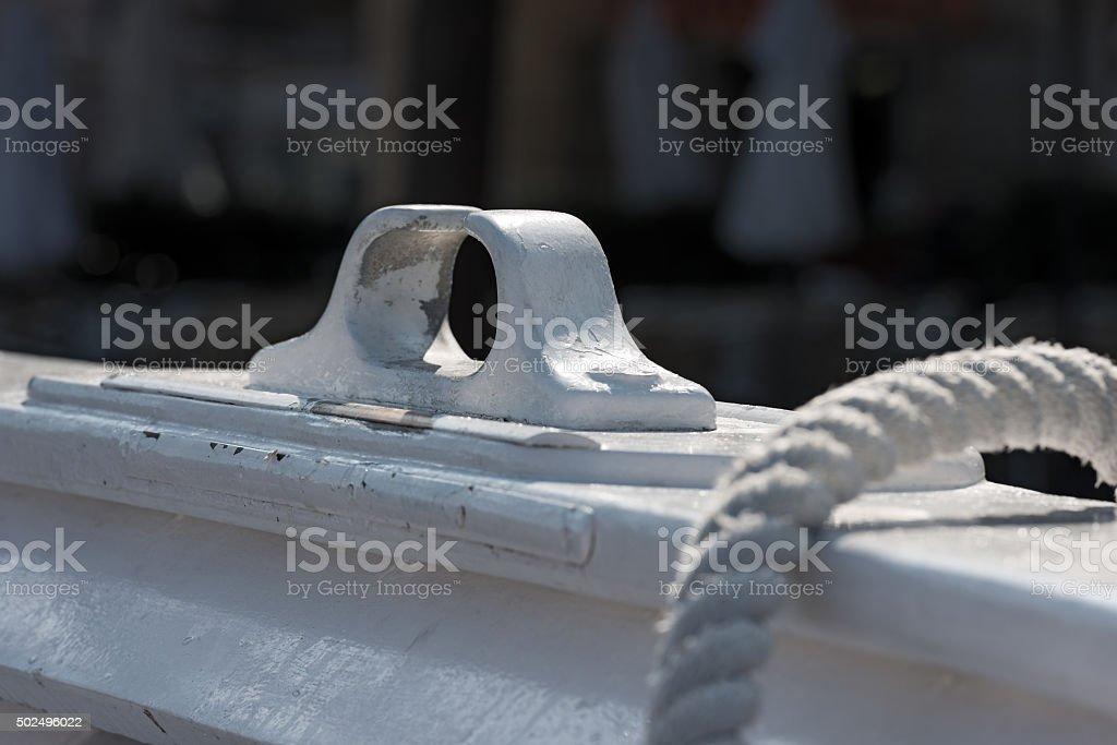 Detail of White Rowlock stock photo