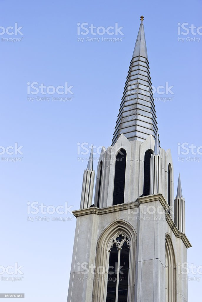 Detail on The St. Louis Marie de Montfort,Thailand royalty-free stock photo