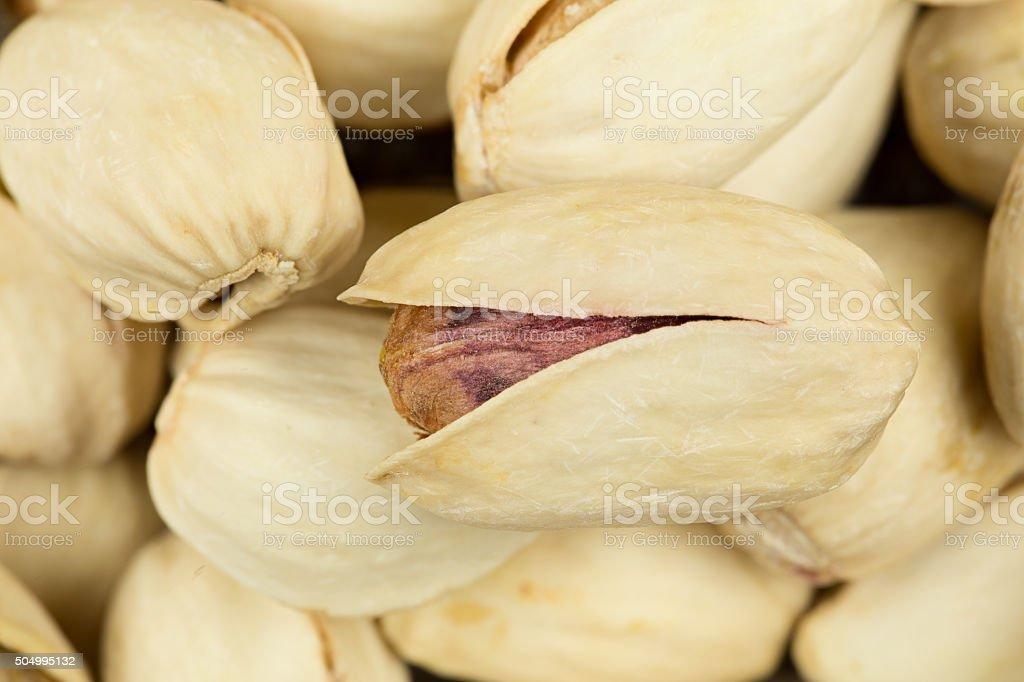 Detail pistachio nut royalty-free stock photo