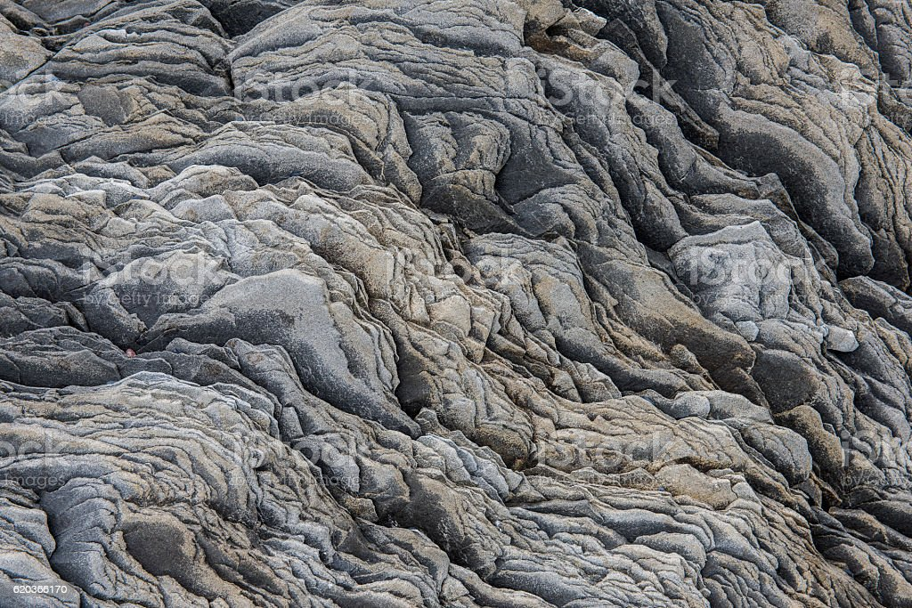 Detail Rock Pattern Iceland stock photo