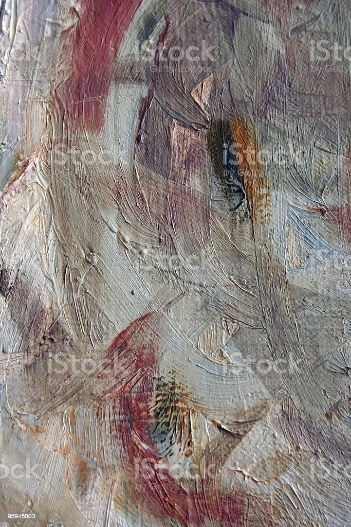 Detailed Abstract Paint Strokes with Texture royalty-free stock photo