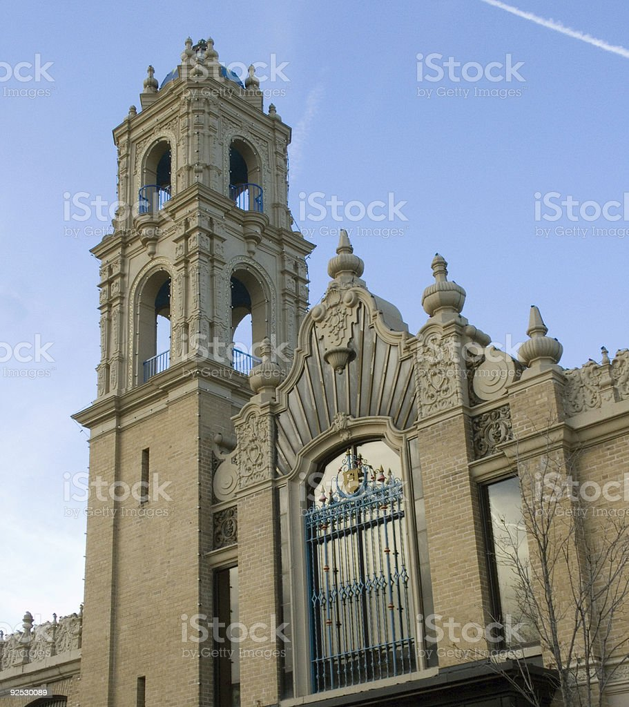 Detailed Architecture royalty-free stock photo