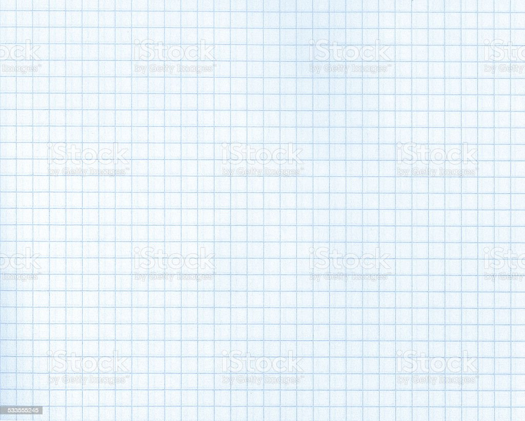 Detailed blank math paper pattern stock photo