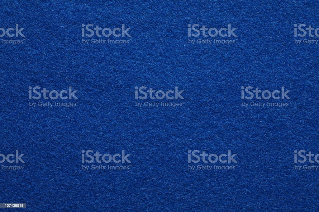 Detailed Blue Felt Background stock photo