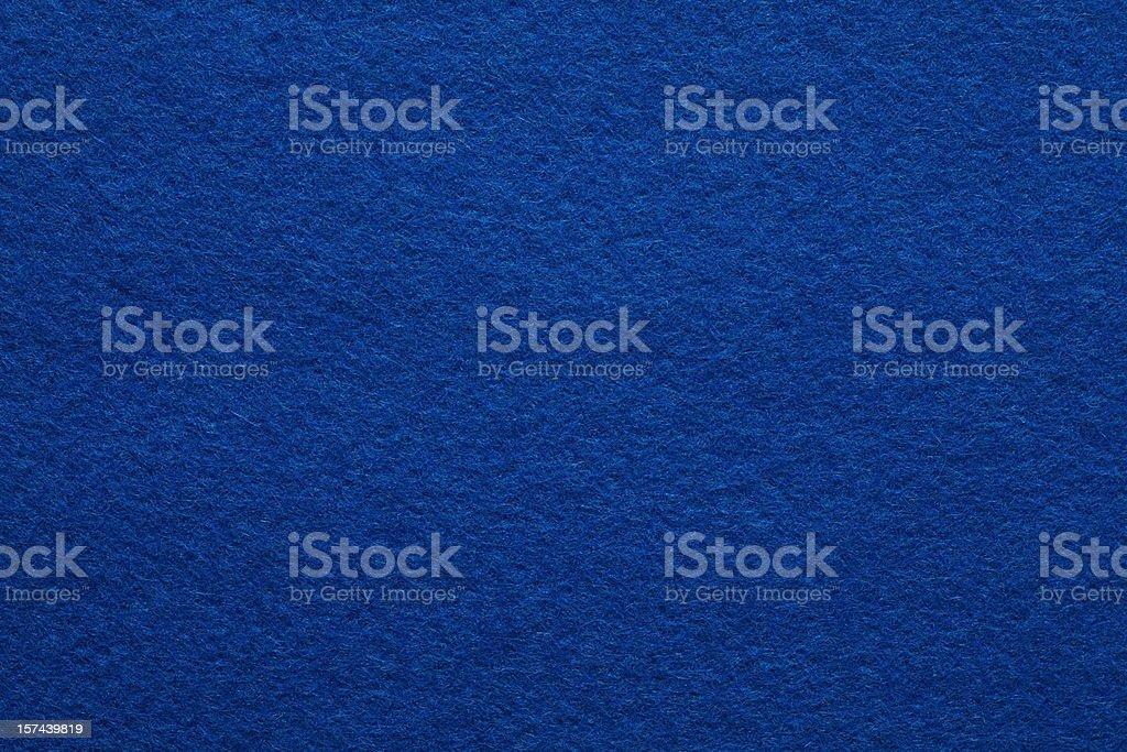 Detailed Blue Felt Background stock photo