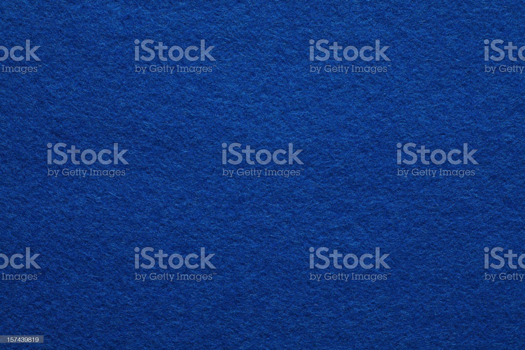 Detailed Blue Felt Background royalty-free stock photo