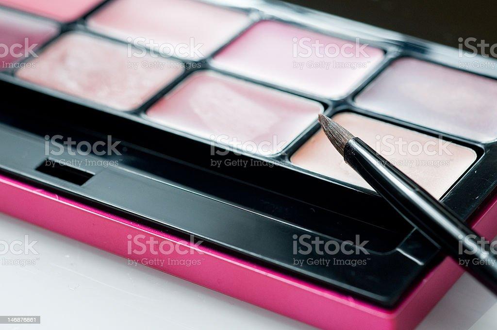 Detailed closeup of lip gloss stock photo