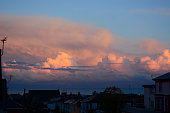 Detailed Cloud Formation at Dusk