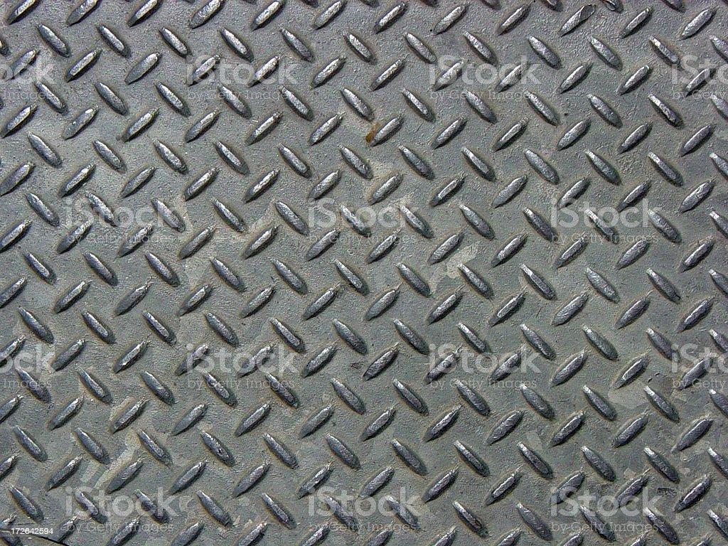Détaillée Texture de métal industrielles fer à repasser photo libre de droits