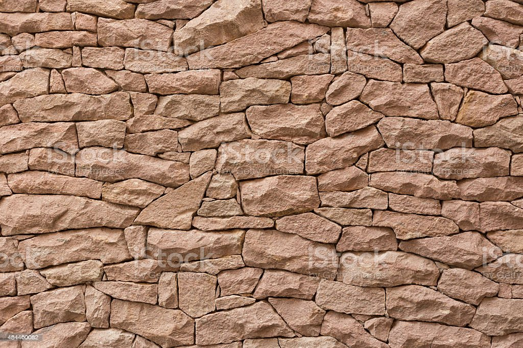 Detailed LimeStone Wall stock photo