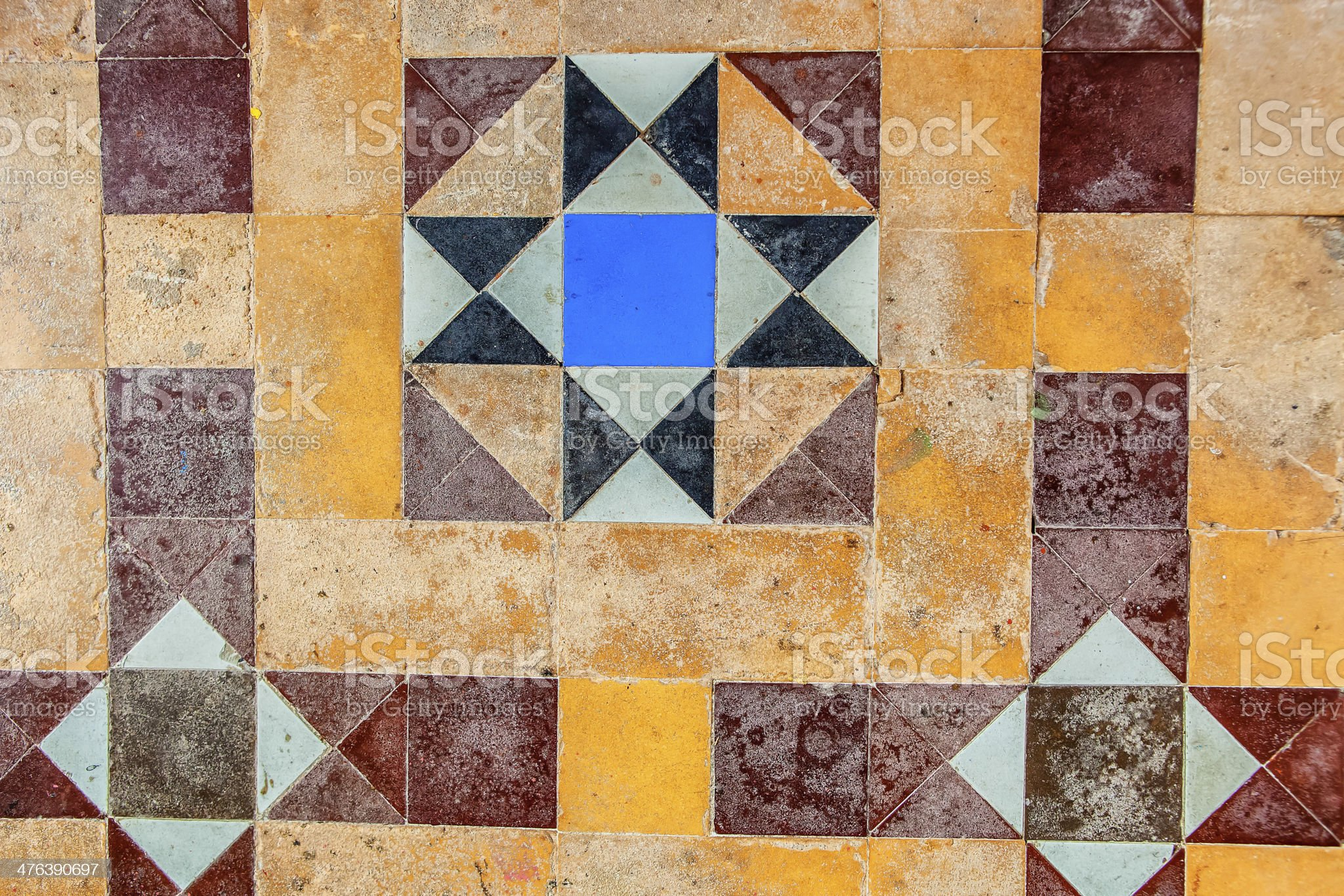 Detailed pattern on the wall. royalty-free stock photo