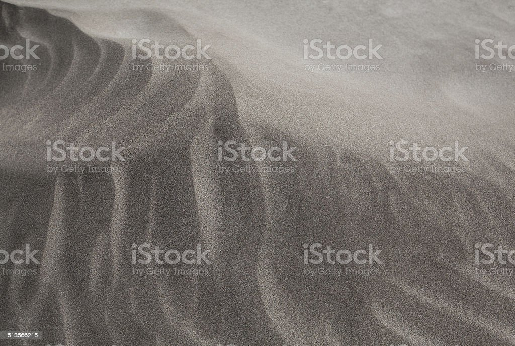 Detailed structure of a sand dune royalty-free stock photo