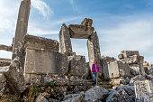 Details from Sagalassos ancient city. Aglasun, Burdur / Turkey.