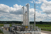 Details of a modern Biomass Plant in Germany