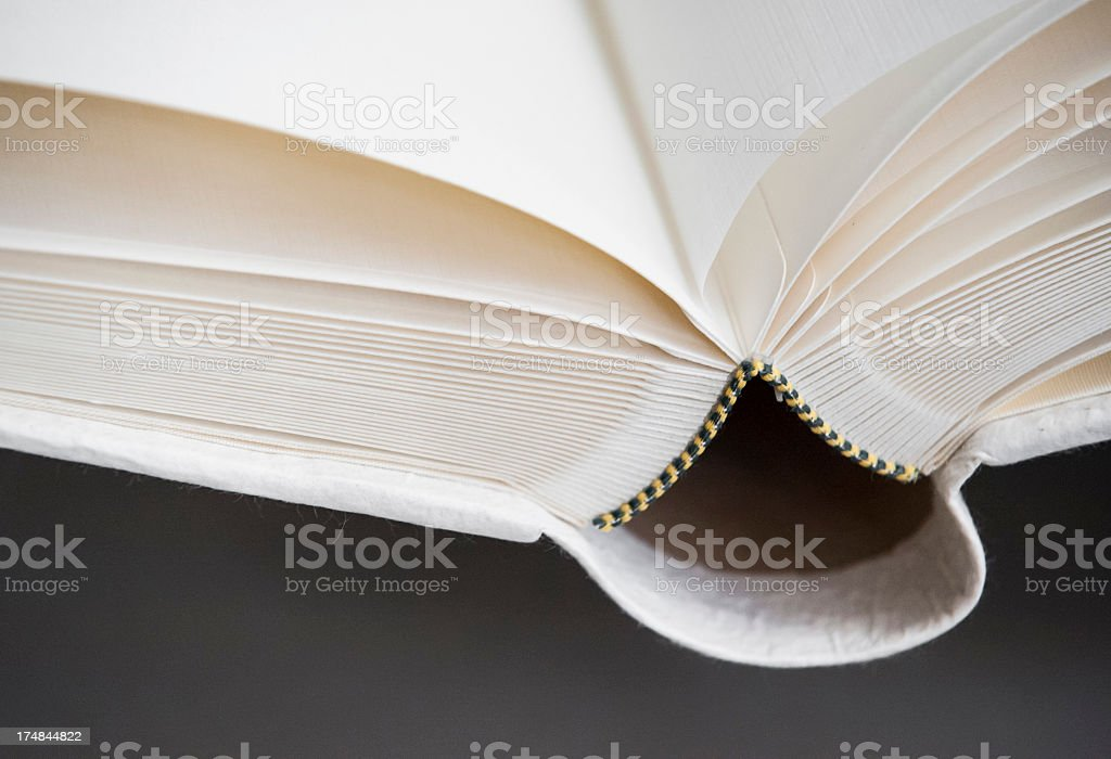 Details of a rise paper book stock photo