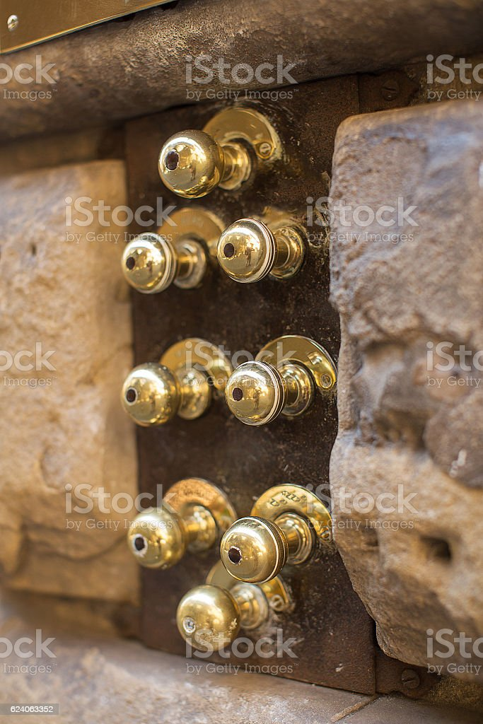 Details of Florence Italy stock photo