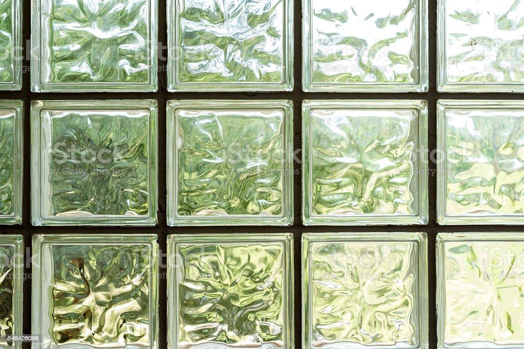 Details of glass mosaic wall photo libre de droits