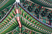 Details of  Gyeongbokgung  Palace. Traditional Architecture