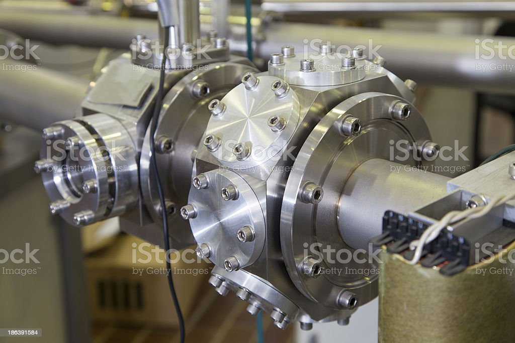 Details of  ION accelerator stock photo