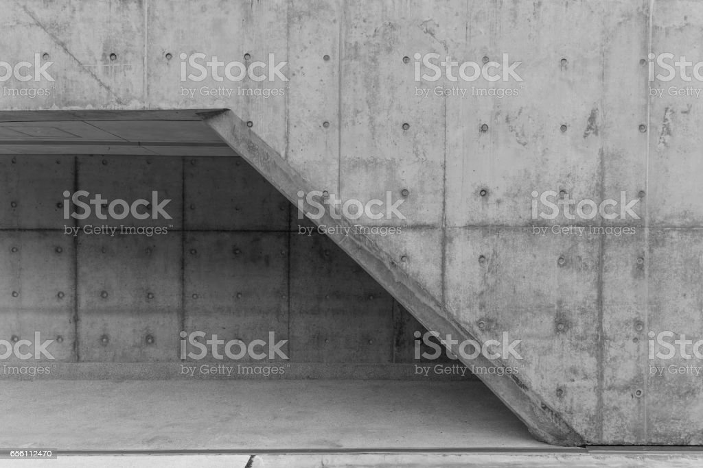 Details of modern architecture exterior stock photo