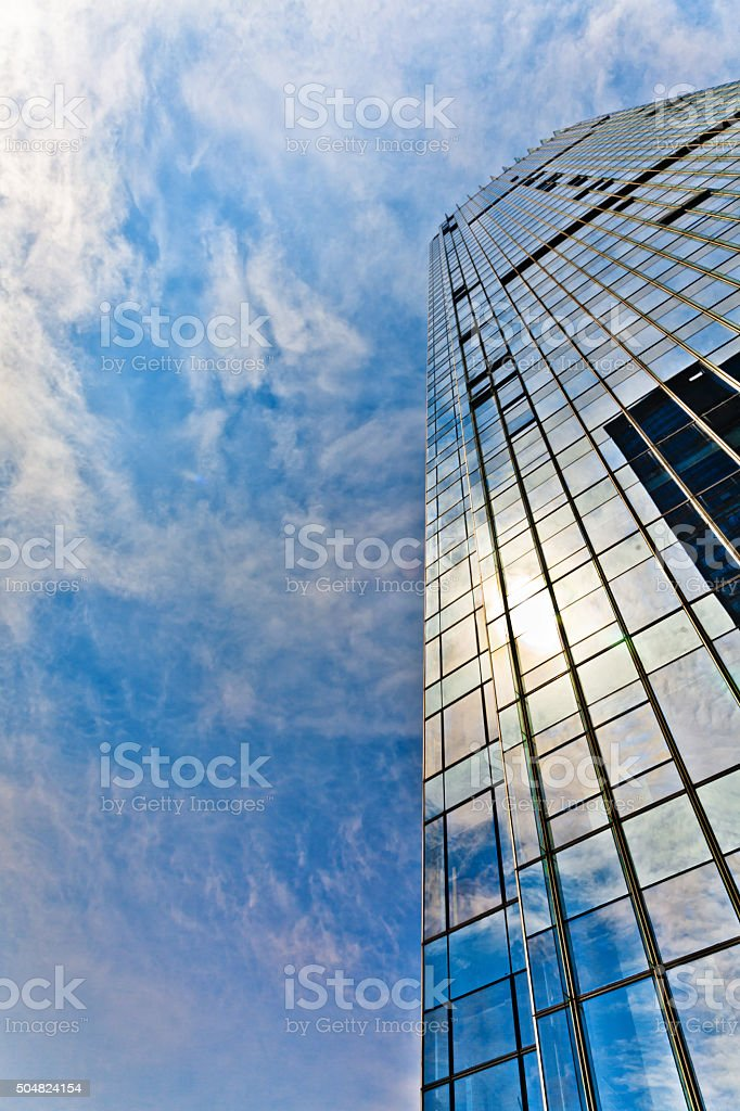 details of modern building stock photo