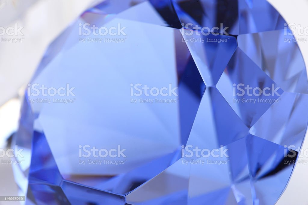 details of sapphire stone royalty-free stock photo